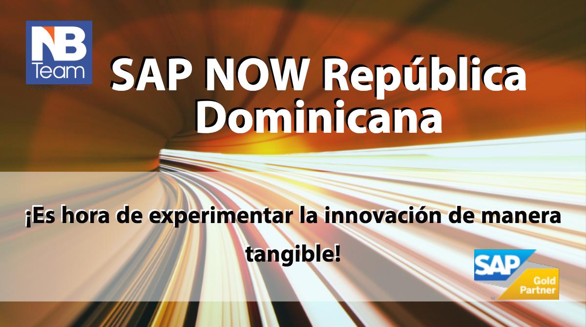 SAP NOWllegaa República Dominicana.