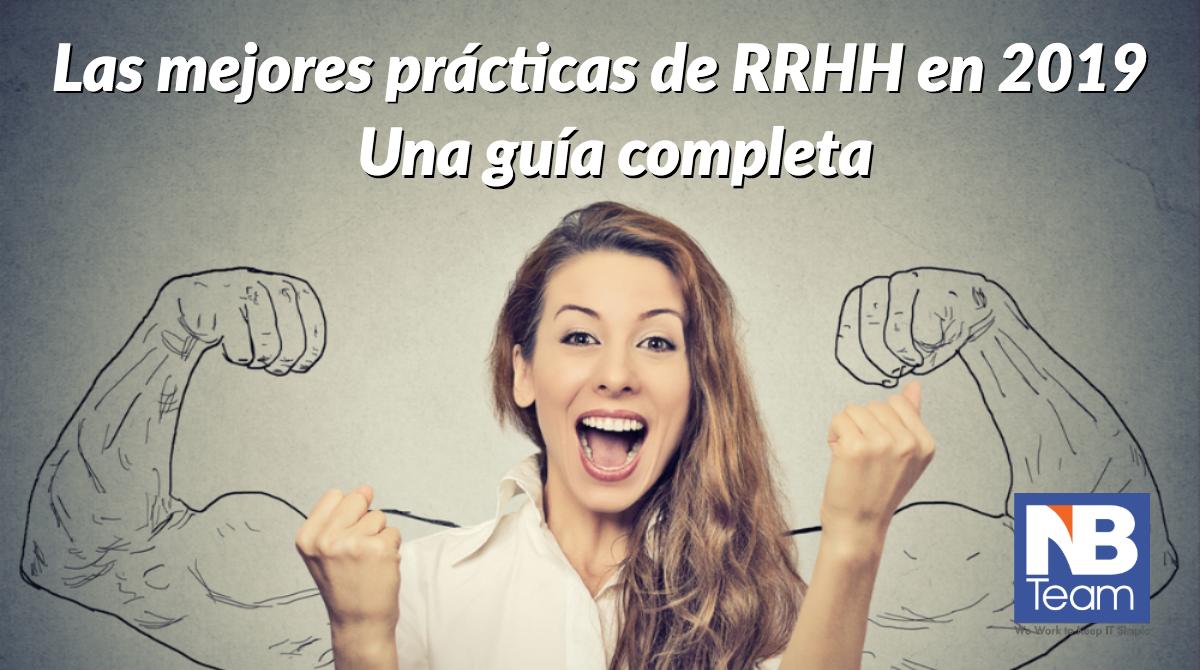 Las mejores prácticas de RRHH en 2019