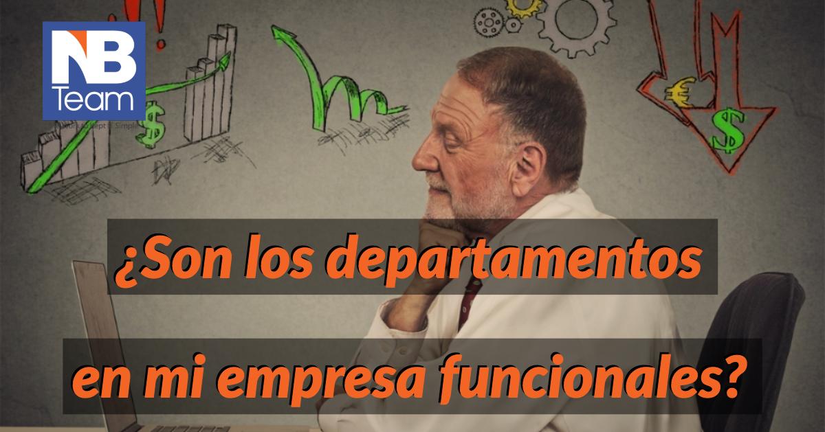 La Importancia de departamentos funcionales en las pequeñas empresas.