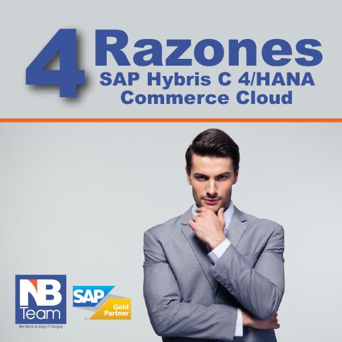 ¿Por que los ejecutivos eligen SAP C4/HANA (Hybris) Commerce Cloud?